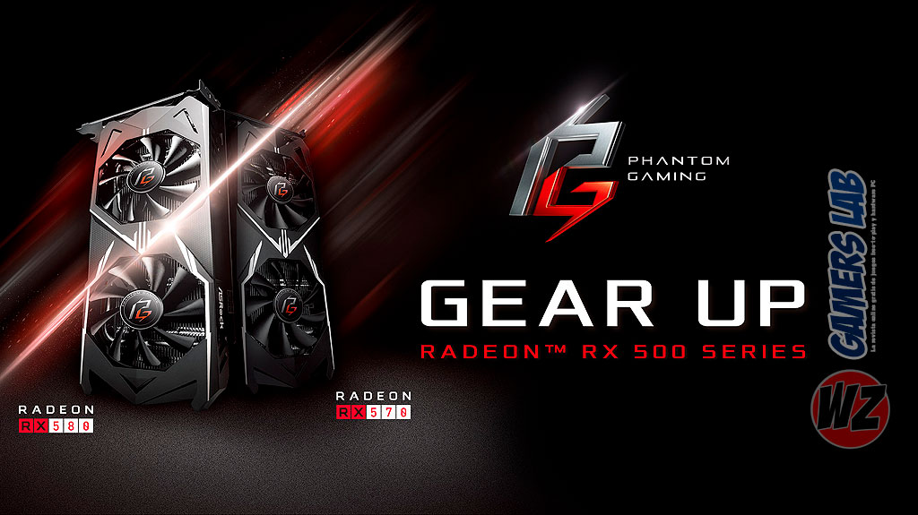 ASRock Radeon Phantom RX 580 Family en WZ Gamers Lab - La revista de videojuegos, free to play y hardware PC digital online