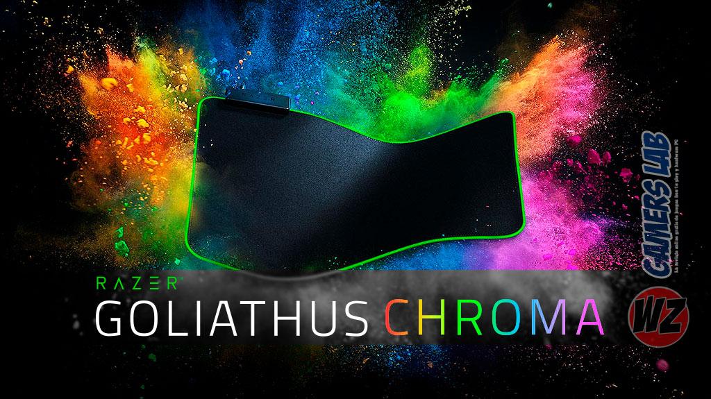 Razer Goliathus Chroma en WZ Gamers Lab - La revista de videojuegos, free to play y hardware PC digital online