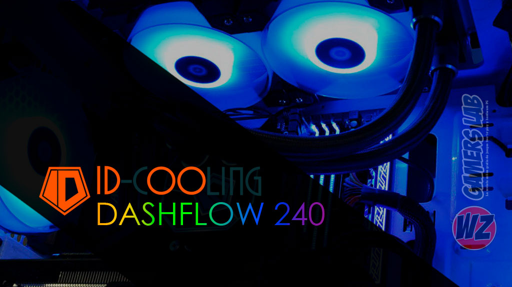 ID-Cooling Dashflow 240 RGB en WZ Gamers Lab - La revista de videojuegos, free to play y hardware PC digital online
