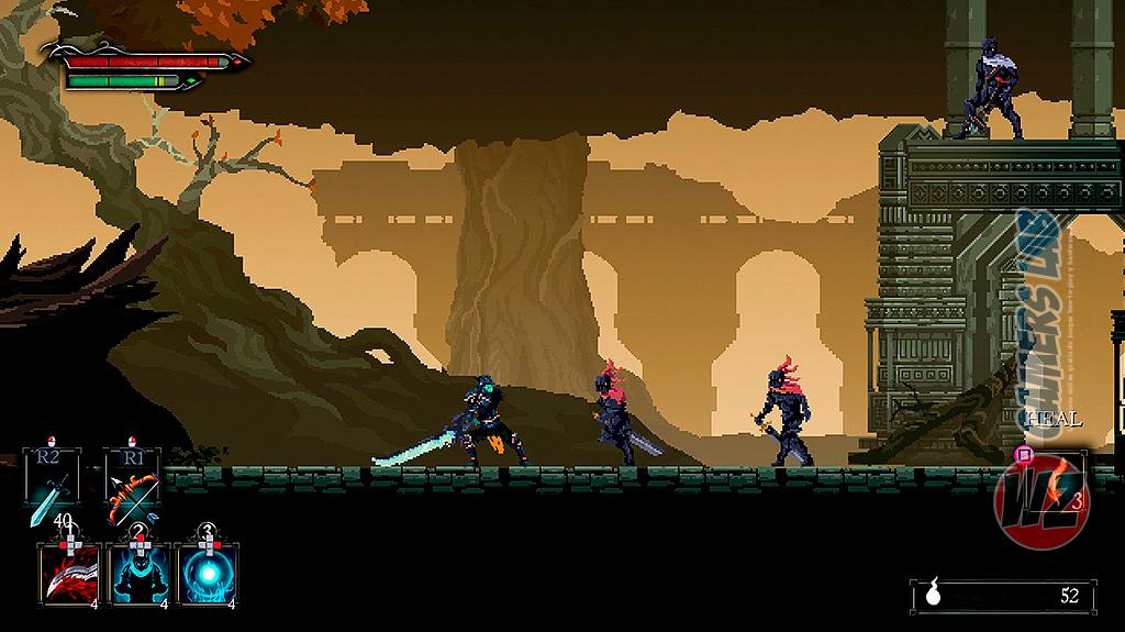 Death's Gambit en WZ Gamers Lab - La revista de videojuegos, free to play y hardware PC digital online