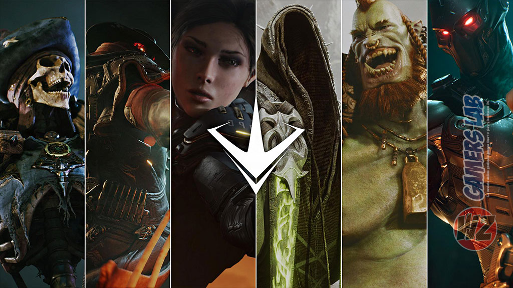 Los assets de Paragon en WZ Gamers Lab - La revista de videojuegos, free to play y hardware PC digital online