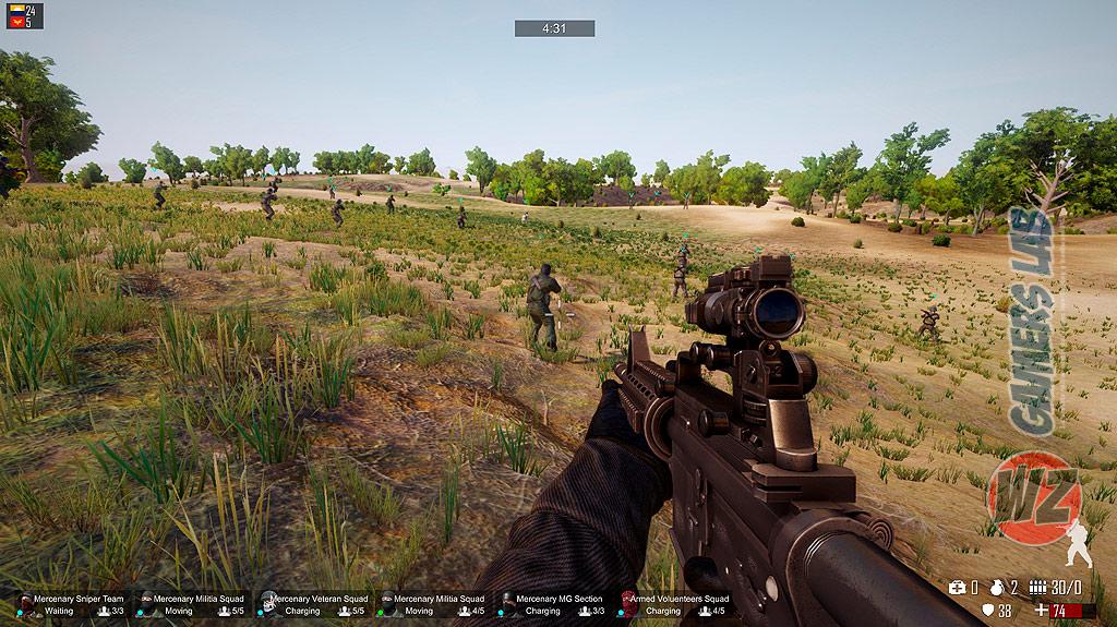Toma el rol de comandante en Freeman: Guerrilla Warfare en WZ Gamers Lab - La revista de videojuegos, free to play y hardware PC digital online