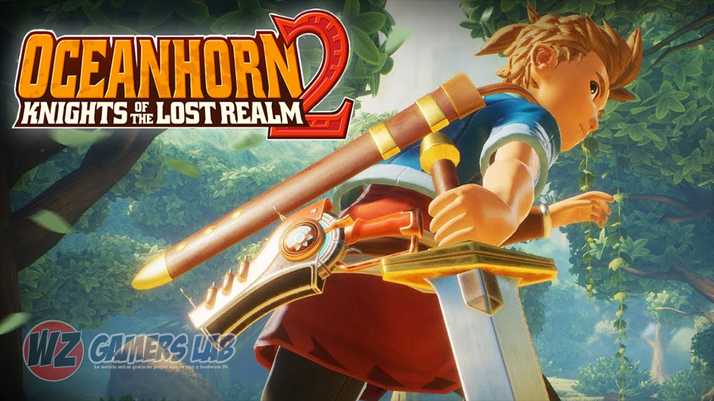 El gameplay de Oceanhorn 2 en WZ Gamers Lab - La revista digital online de videojuegos free to play y Hardware PC