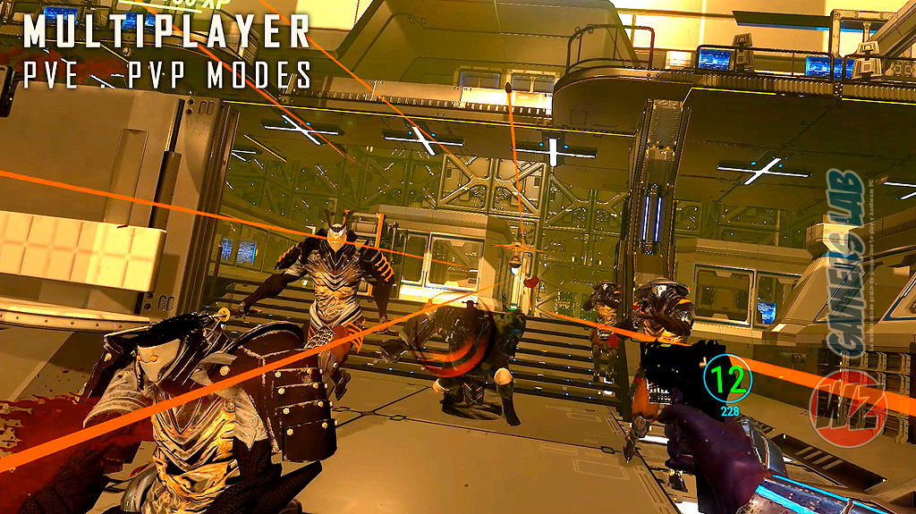 Violencia y gore en Sairento VR en WZ Gamers Lab - La revista de videojuegos, free to play y hardware PC digital online