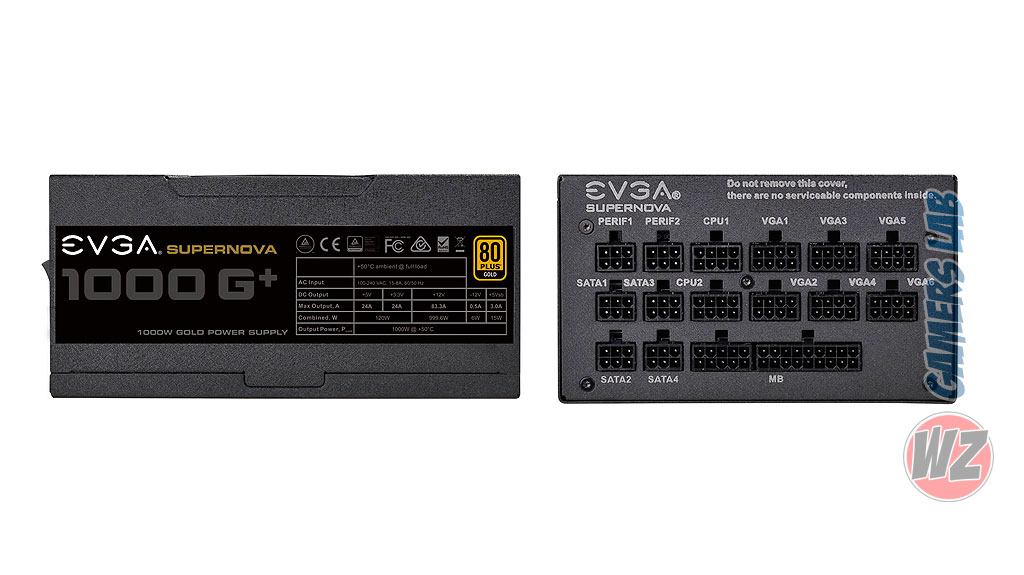 EVGA Supernova G1+ en WZ Gamers Lab - La revista de videojuegos, free to play y hardware PC digital online