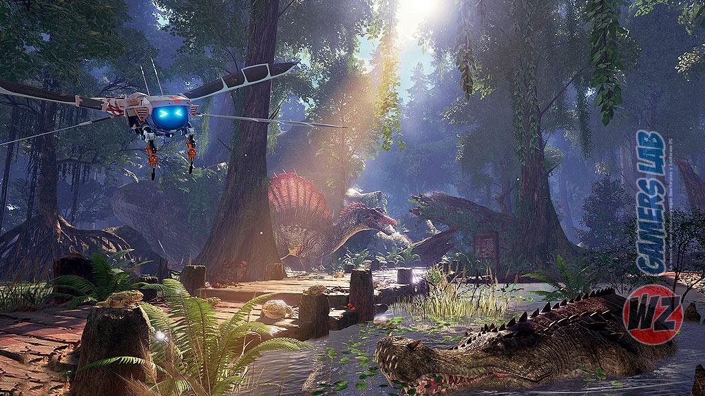 Vuelve a la era de los dinosaurios con ARK Park en WZ Gamers Lab - La revista de videojuegos, free to play y hardware PC digital online