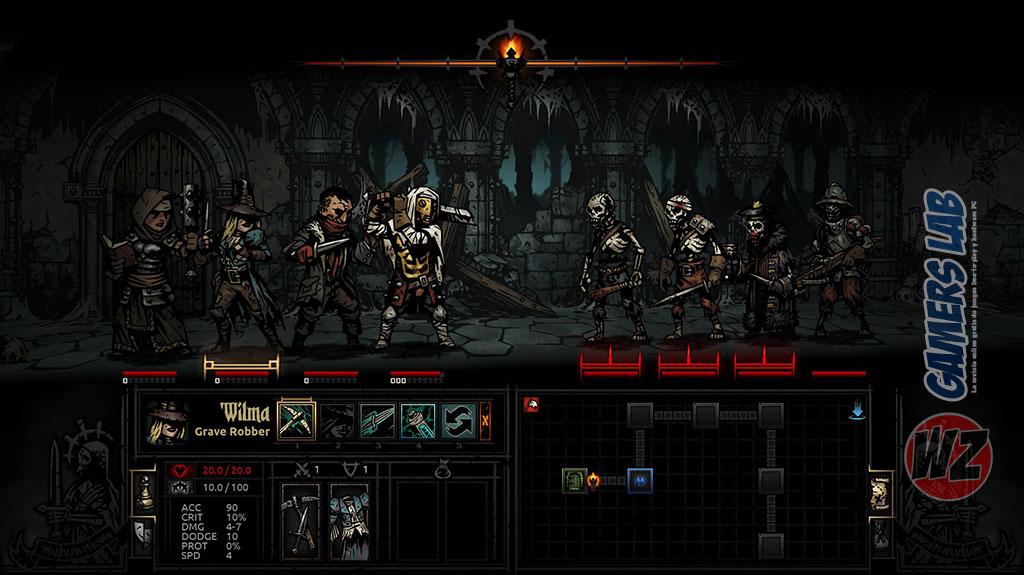 Nuevo DLC de Darknest Dungeon en WZ Gamers Lab - La revista digital online de videojuegos free to play y Hardware PC