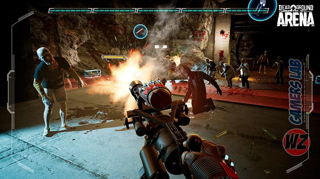 Dead Ground: Arena en WZ Gamers Lab - La revista de videojuegos, free to play y hardware PC digital online