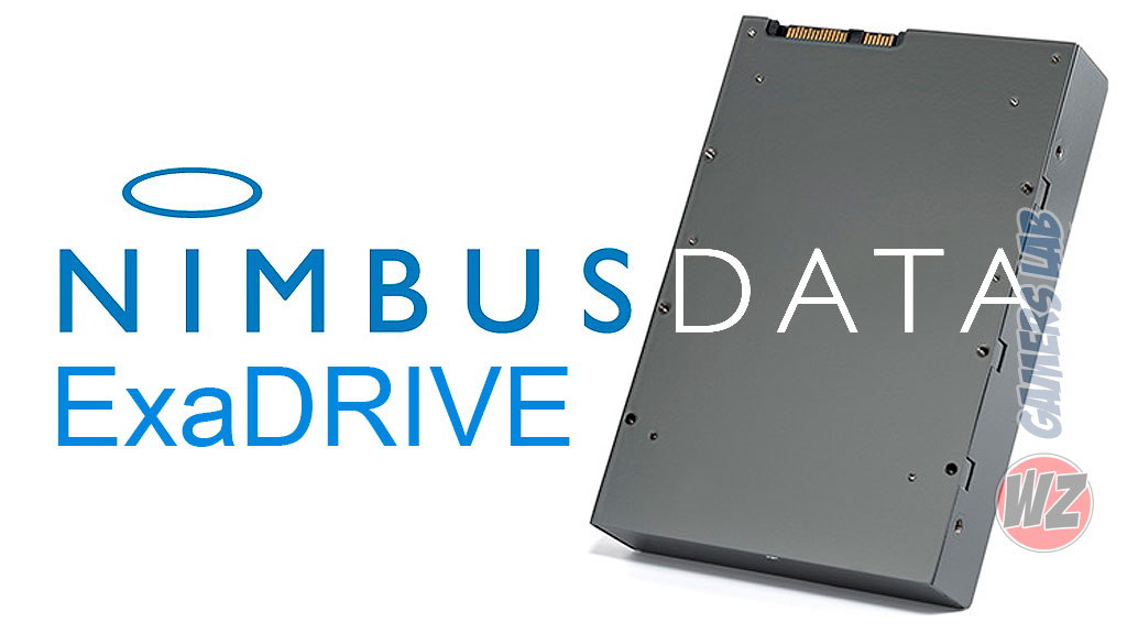 Nimbus Data ExaDRIVE DC100 100TB en WZ Gamers Lab - La revista de videojuegos, free to play y hardware PC digital online