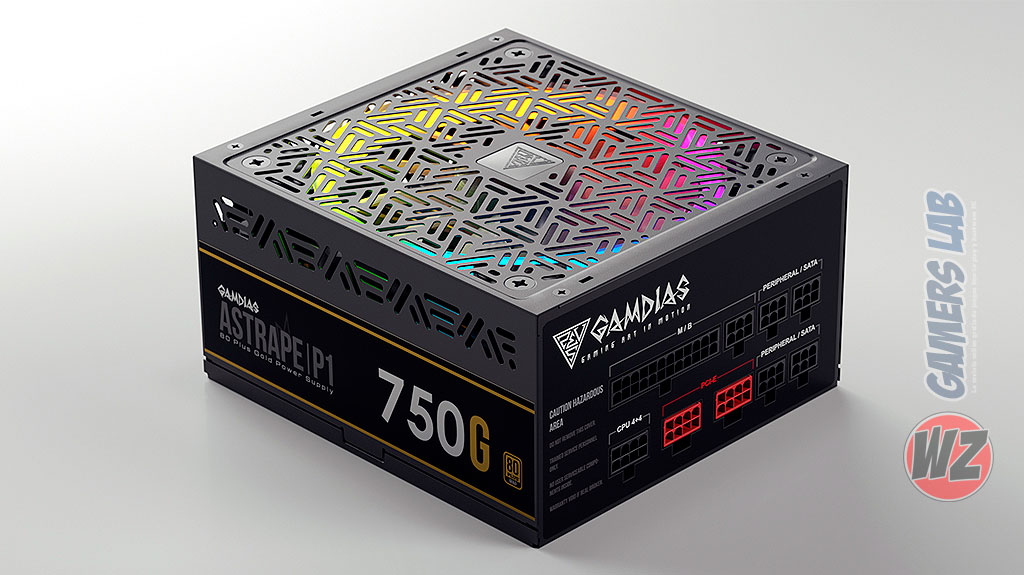 Gamdias Power Supplies en WZ Gamers Lab - La revista de videojuegos, free to play y hardware PC digital online