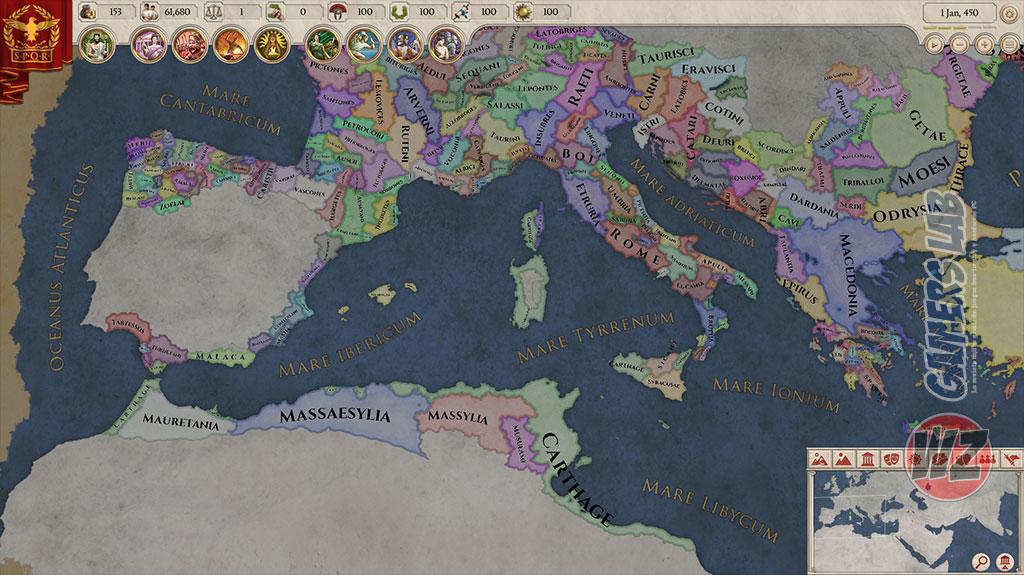 Imperator: Rome ha sido anunciado en WZ Gamers Lab - La revista digital online de videojuegos free to play y Hardware PC
