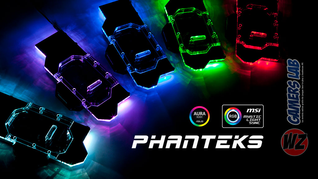 Nuevos productos de iluminación RGB de Phanteks en WZ Gamers Lab - La revista de videojuegos, free to play y hardware PC digital online