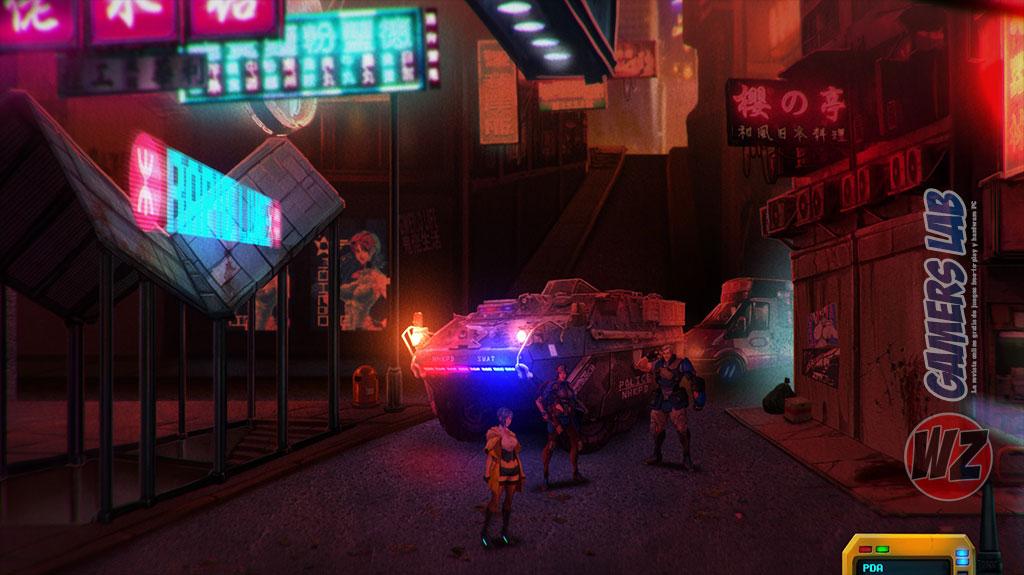 Presentado Sense: A Cyberpunk Story en WZ Gamers Lab - La revista digital online de videojuegos free to play y Hardware PC