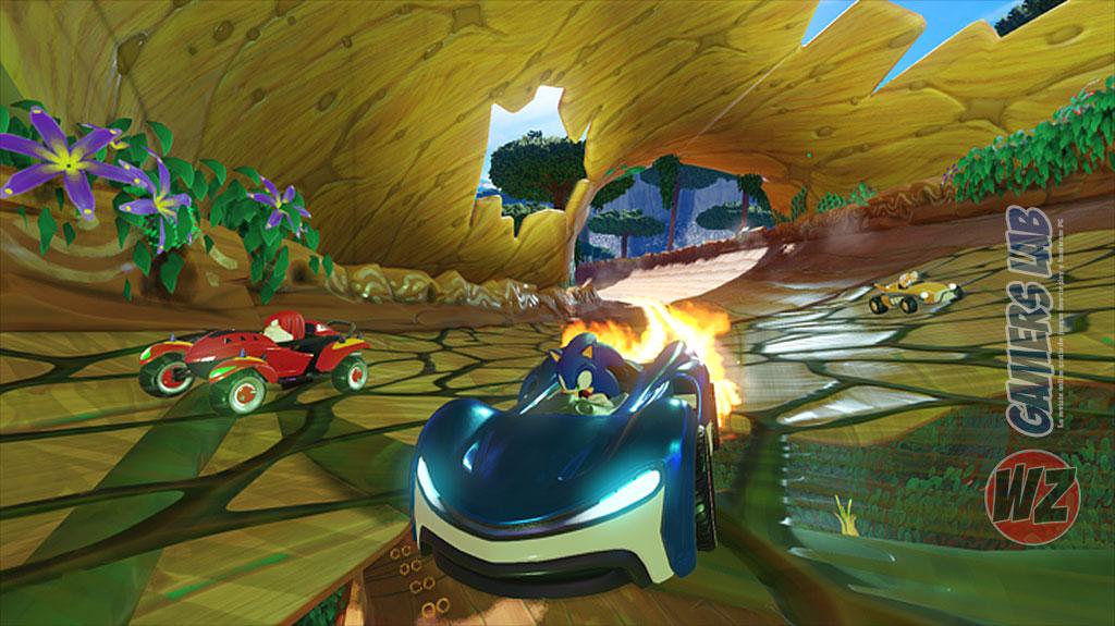 Team Sonic Racing ha sido filtrado en WZ Gamers Lab - La revista digital online de videojuegos free to play y Hardware PC