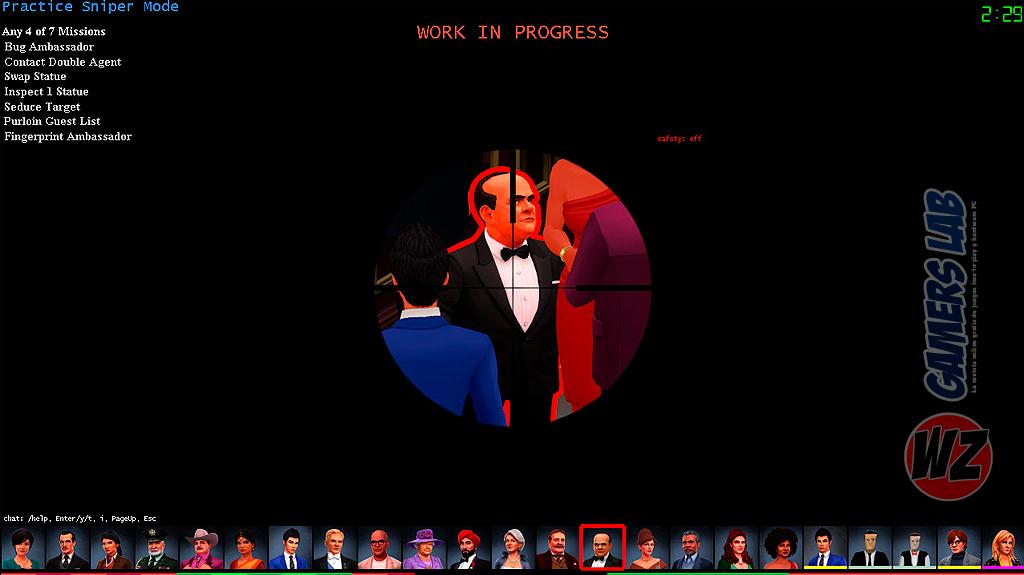 Conviértete un espía en SpyParty en WZ Gamers Lab - La revista de videojuegos, free to play y hardware PC digital online