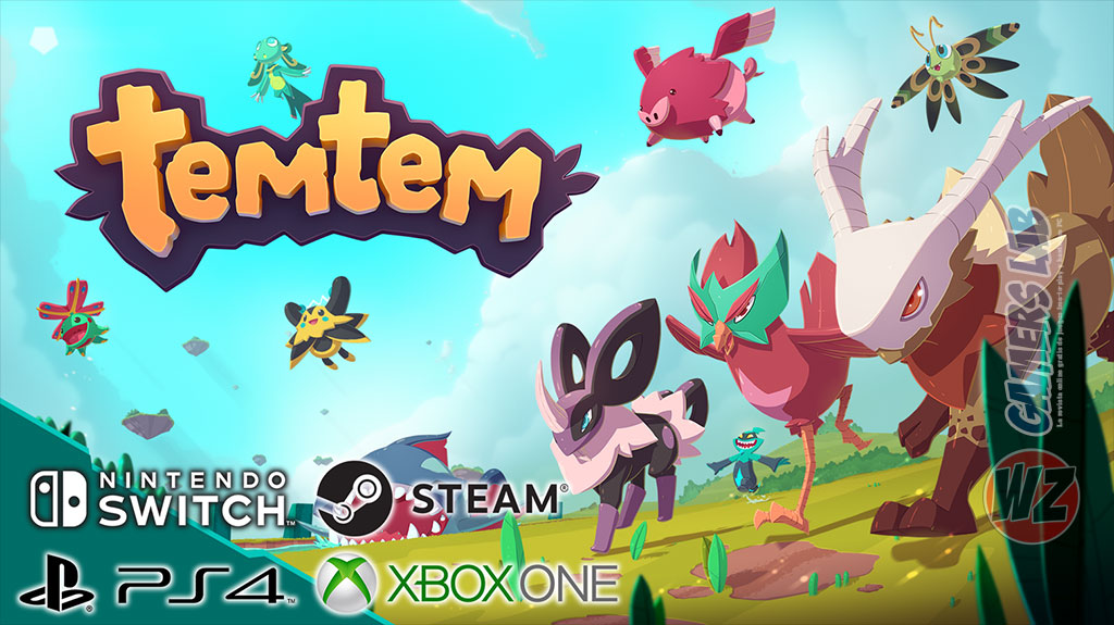 El éxito de Temtem en WZ Gamers Lab - La revista digital online de videojuegos free to play y Hardware PC