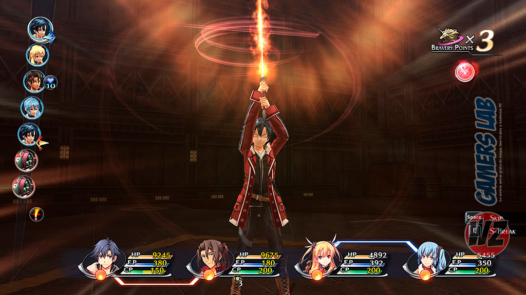 The Legend of Heroes: Trails of Cold Steel II en WZ Gamers Lab - La revista de videojuegos, free to play y hardware PC digital online