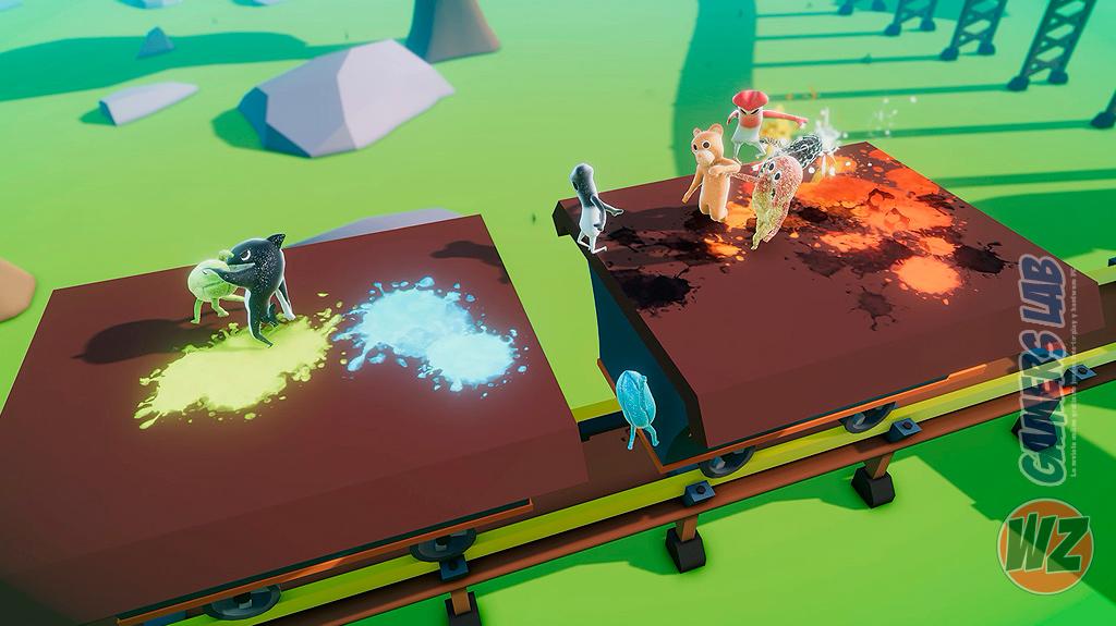 Pelea de gominolas en A Gummy's Life en WZ Gamers Lab - La revista de videojuegos, free to play y hardware PC digital online