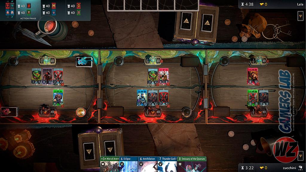 Richard Garfeld, y Valve nos presentan un nuevo juego de cartas en WZ Gamers Lab - La revista de videojuegos, free to play y hardware PC digital online