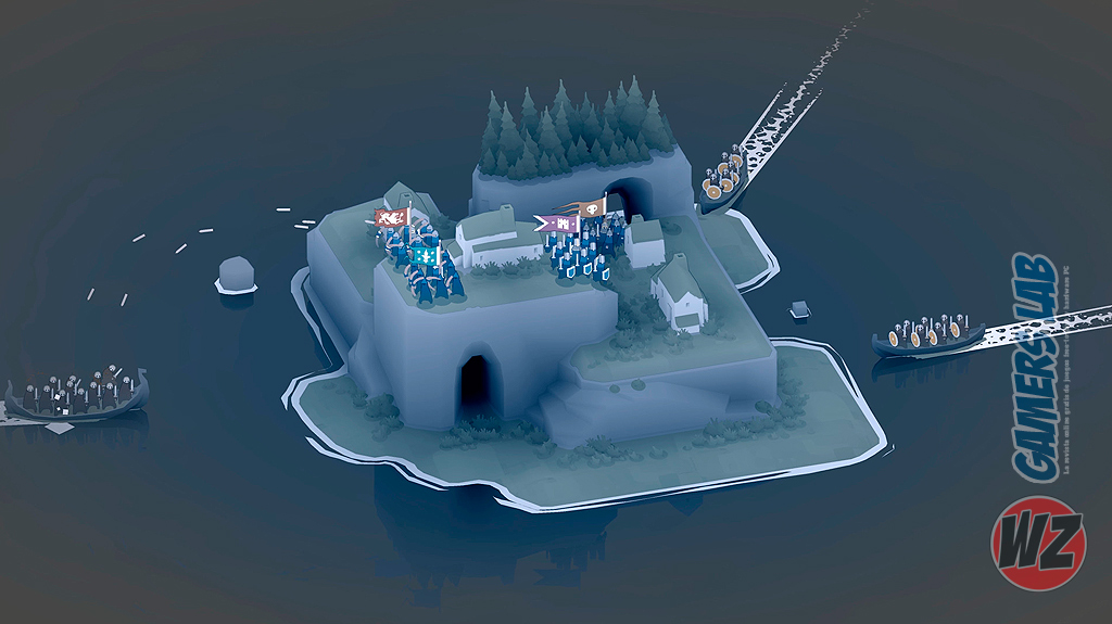 Defiende cada una de las islas de Bad North en WZ Gamers Lab - La revista de videojuegos, free to play y hardware PC digital online