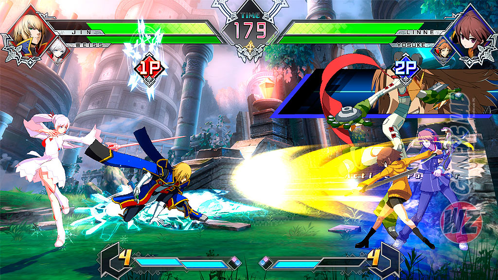 La atención de la comunidad se centra en BlazBlue: Cross Tag Battle en WZ Gamers Lab - La revista de videojuegos, free to play y hardware PC digital online