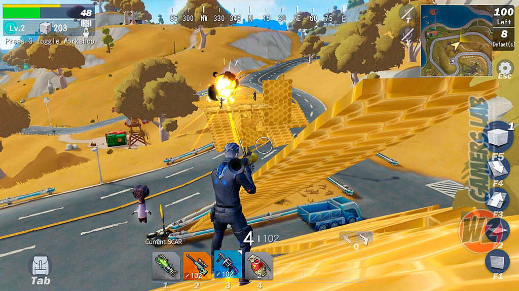 Lucha por la supervivencia en Creative Destruction en City of the Shroud en WZ Gamers Lab - La revista de videojuegos, free to play y hardware PC digital online
