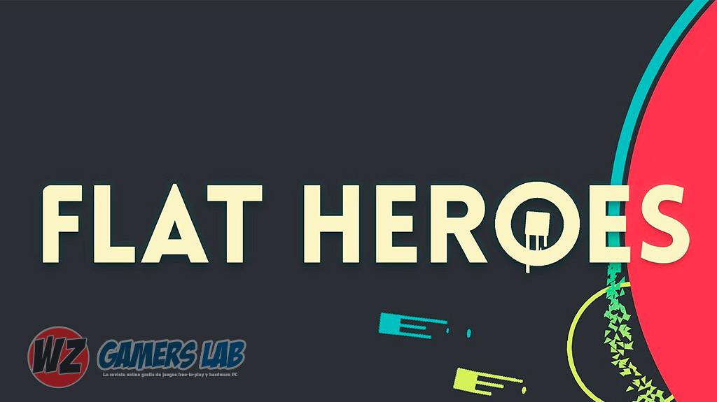 Descubre niveles de supervivencia imposible en Flat Heroes en WZ Gamers Lab - La revista de videojuegos, free to play y hardware PC digital online