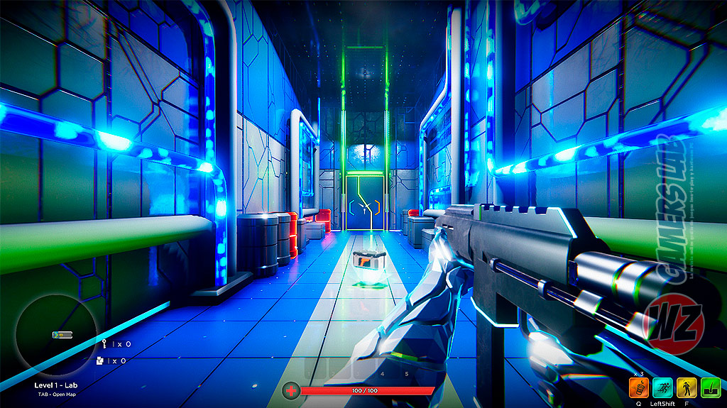 Salva al mundo en HYPERGUN en WZ Gamers Lab - La revista de videojuegos, free to play y hardware PC digital online
