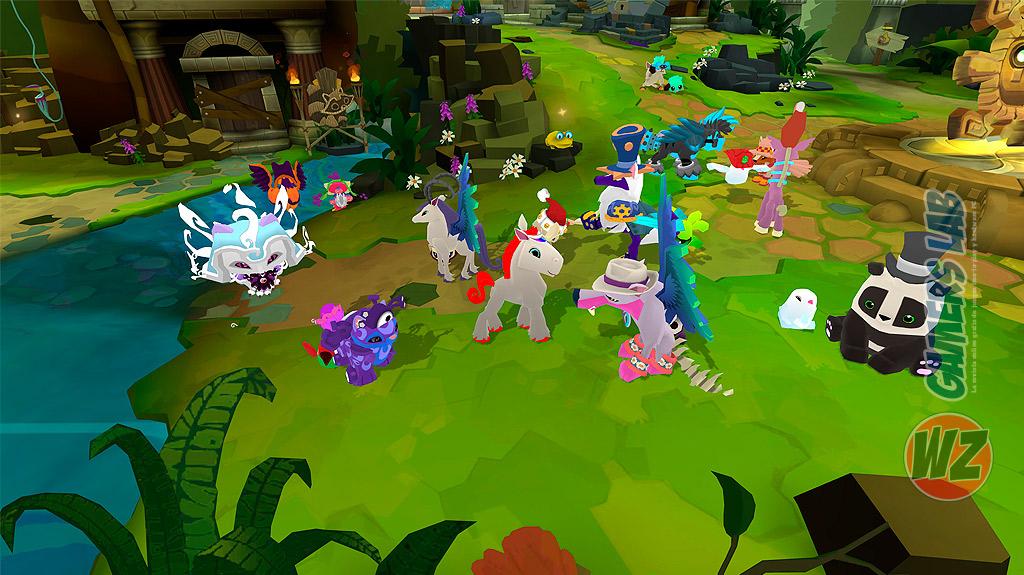 Explora el maravilloso mundo de Animal Jam - Play Wild! en WZ Gamers Lab - La revista de videojuegos, free to play y hardware PC digital online