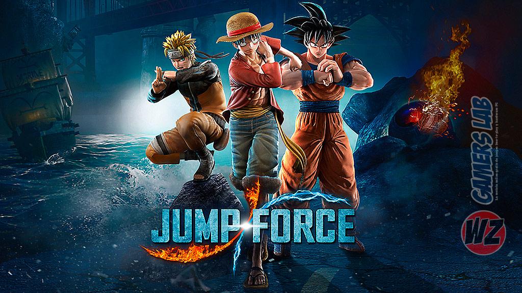 JUMP FORCE llegará el 15 de febrero de 2019 en WZ Gamers Lab - La revista de videojuegos, free to play y hardware PC digital online