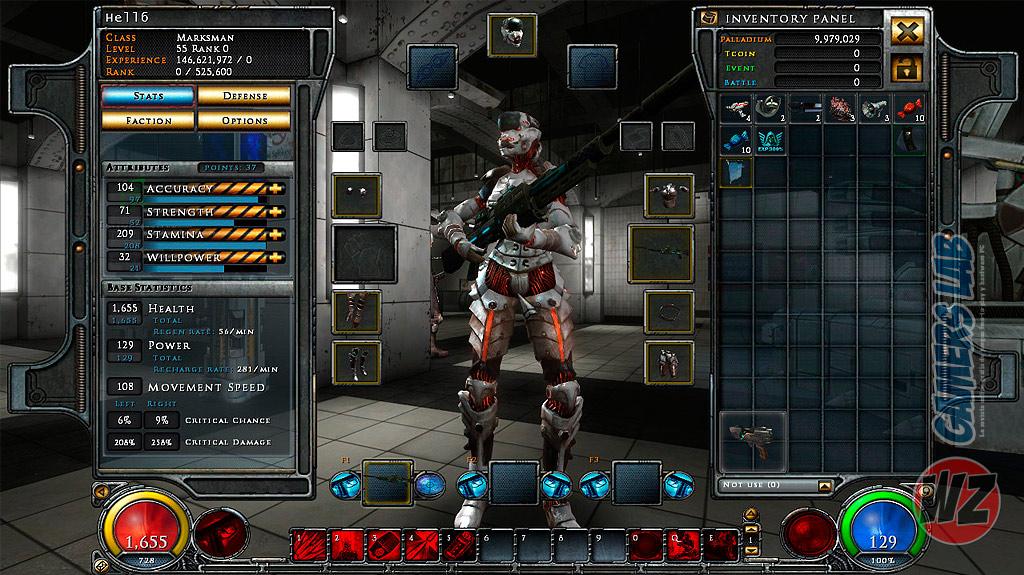 Sobrevive en el futuro de 2038 en HELLGATE: London en WZ Gamers Lab - La revista de videojuegos, free to play y hardware PC digital online