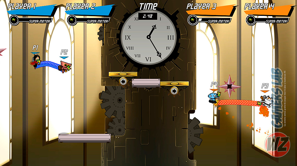 Nuevo multijugador competitivo con SPLASH BLAST PANIC en WZ Gamers Lab - La revista de videojuegos, free to play y hardware PC digital online