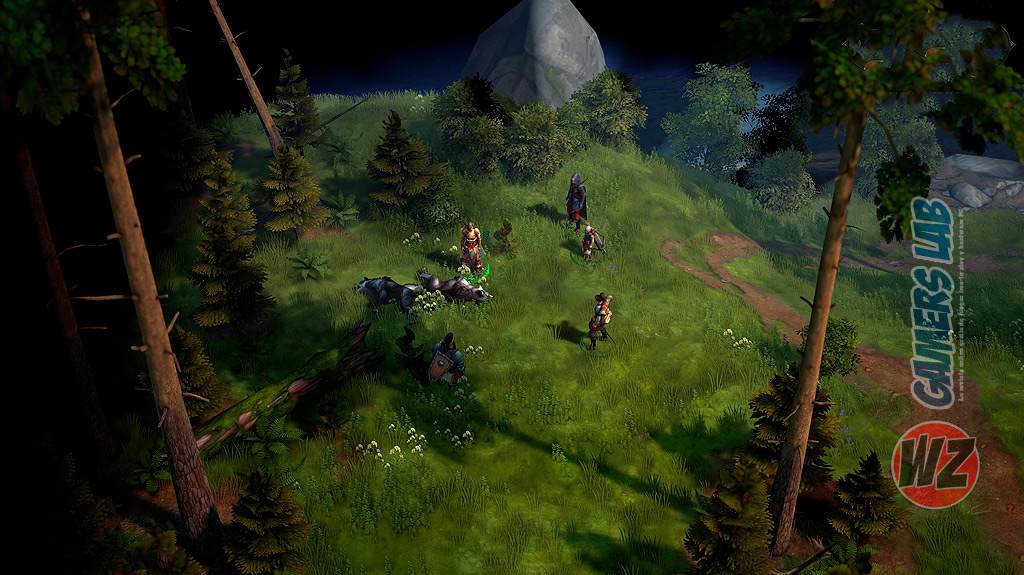El primer juego isométrico de rol para PC Pathfinder: Kingmaker en WZ Gamers Lab - La revista de videojuegos, free to play y hardware PC digital online
