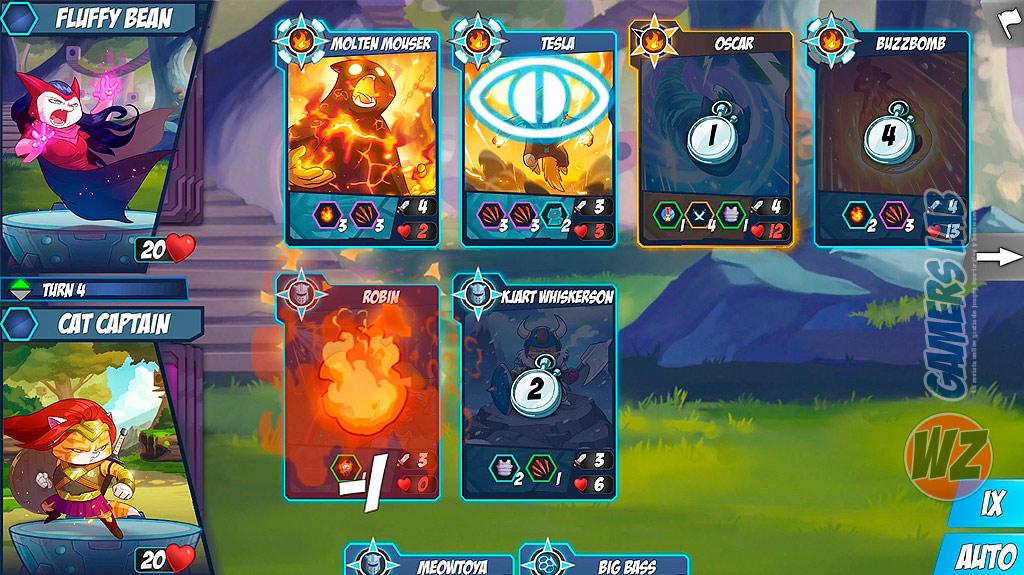 Un nuevo juego de cartas con Tap Cats: Battle Arena en WZ Gamers Lab - La revista de videojuegos, free to play y hardware PC digital online
