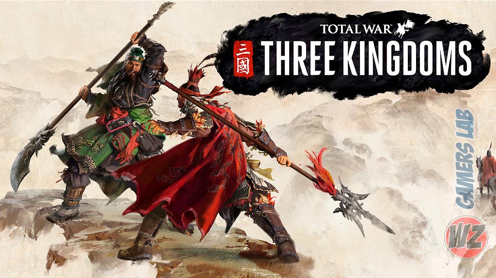 Total War Three Kingdoms ya disponible para reserva en WZ Gamers Lab - La revista de videojuegos, free to play y hardware PC digital online
