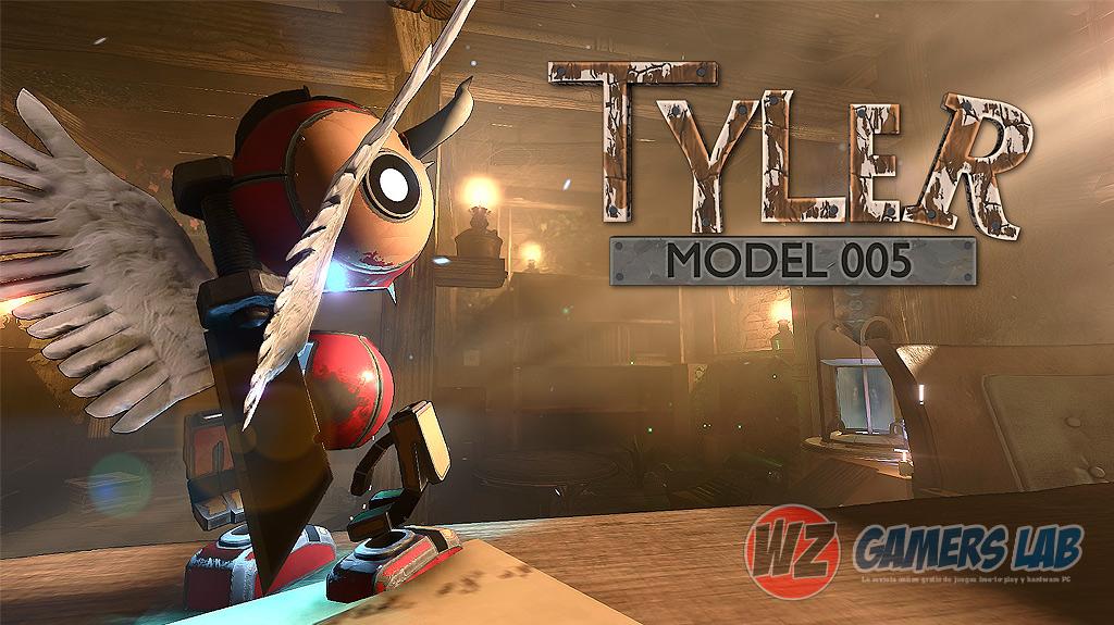 Métete en la piel de un diminuto robot con Tyler Model 005 en WZ Gamers Lab - La revista de videojuegos, free to play y hardware PC digital online