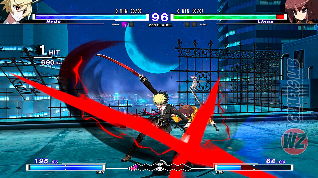 UNDER NIGHT IN-BIRTH Exe:Late en WZ Gamers Lab - La revista de videojuegos, free to play y hardware PC digital online