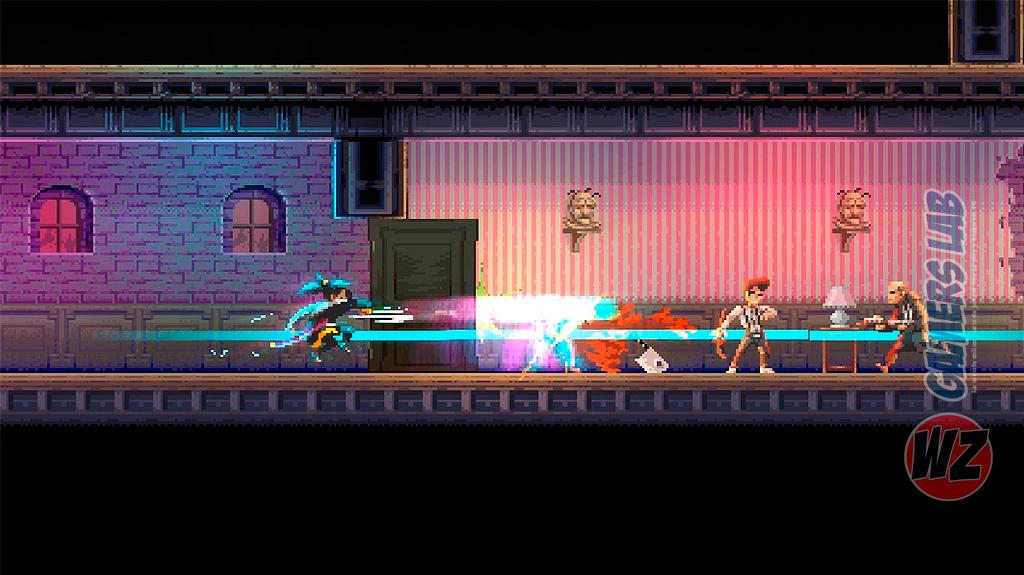 Katana ZERO enamora al público con su pixel art en WZ Gamers Lab - La revista de videojuegos, free to play y hardware PC digital online
