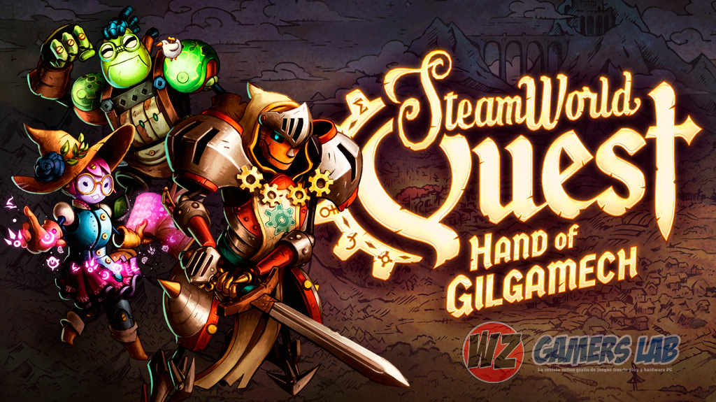 Rol y cartas en SteamWorld Quest: Hand of Gilgamech en WZ Gamers Lab - La revista de videojuegos, free to play y hardware PC digital online
