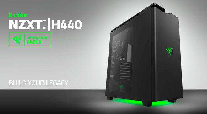 Caja NZXT H440 Razer Edition en WZ Gamers Lab - La revista digital online de videojuegos y PC