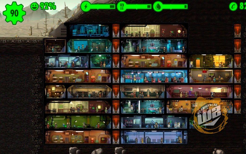 Fallout Shelter versión de Fallout para móvil en WZ Gamers Lab - La revista digital online de videojuegos y PC