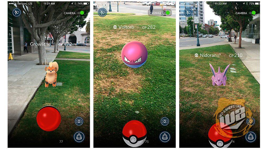 Pokémon GO para móvil en WZ Gamers Lab - La revista digital online de videojuegos y PC