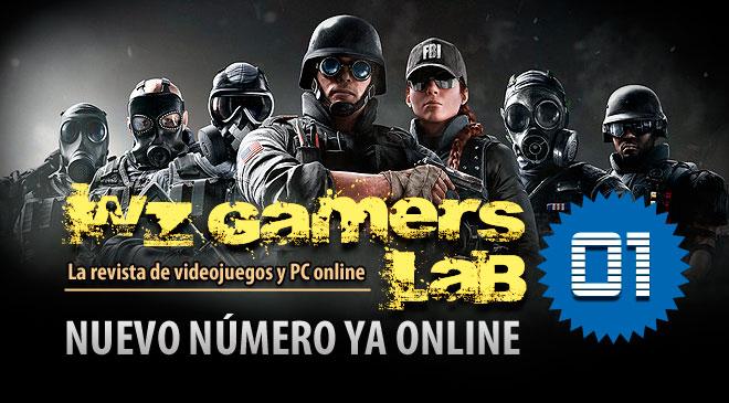 WZ Gamers Lab - La revista de videojuegos y PC Online - Número 1 año 1 ya disponible