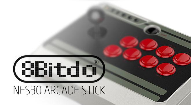 8Bitdo Nes30 Arcade Stick en WZ Gamers Lab - La revista digital online de videojuegos free to play y Hardware PC