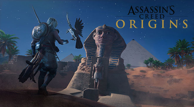 Assassin's Creed: Origins en WZ Gamers Lab - La revista de videojuegos, free to play y hardware PC digital online