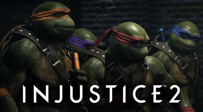 TMNT en Injustice 2 en WZ Gamers Lab - La revista de videojuegos, free to play y hardware PC digital online