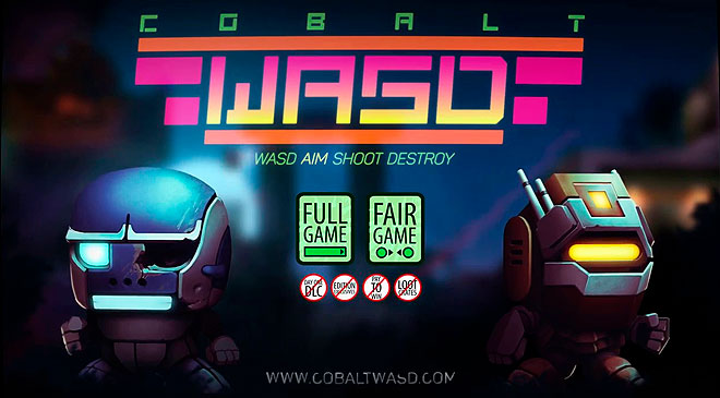 Cobalt WASD ya está disponible en Steam en WZ Gamers Lab - La revista de videojuegos, free to play y hardware PC digital online.