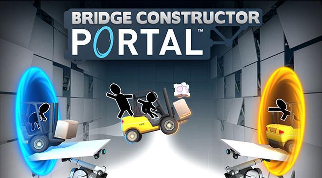 Bridge Constructor Portal sale hoy en WZ Gamers Lab - La revista de videojuegos, free to play y hardware PC digital online.