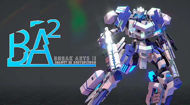 Personaliza tu robot en Break Arts II