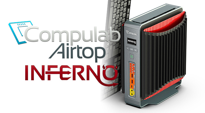 Compulab Airtop2 Inferno en WZ Gamers Lab - La revista de videojuegos, free to play y hardware PC digital online
